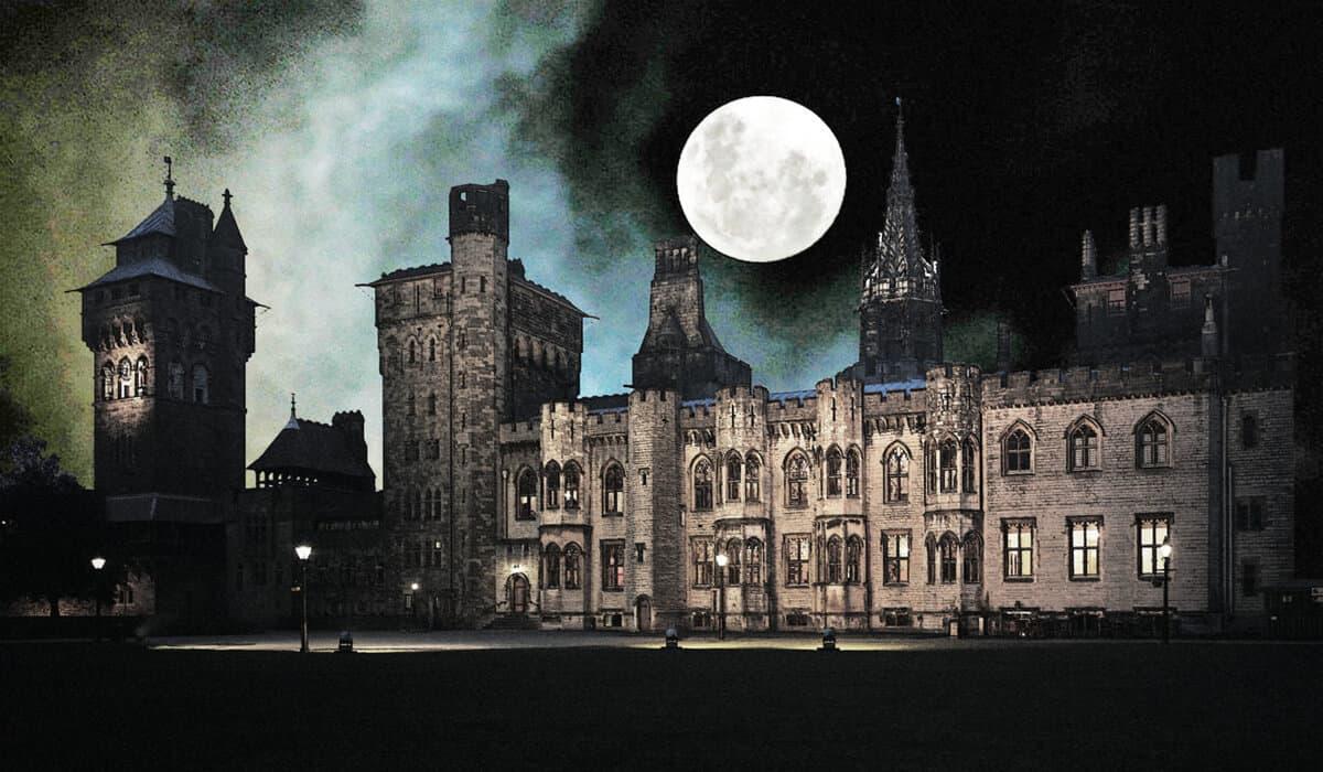 Cardiff Castle Cardiff Halloween