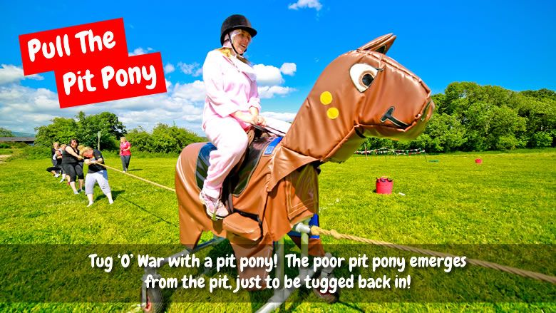 pull the pit pony welsh games mobile