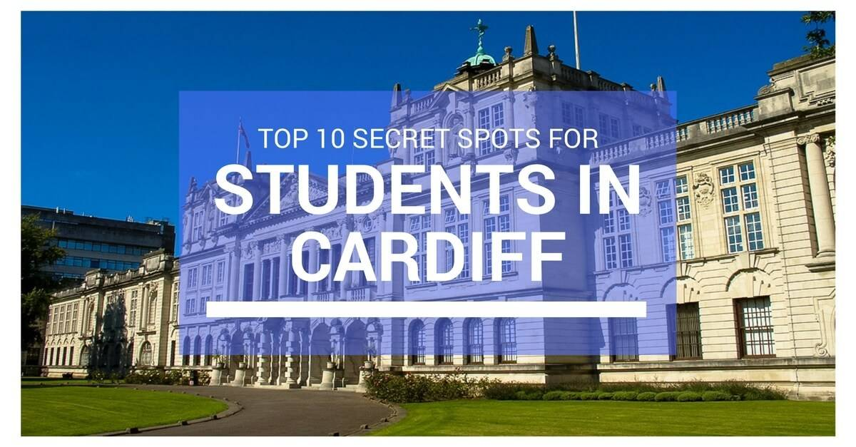 students in cardiff secret spots