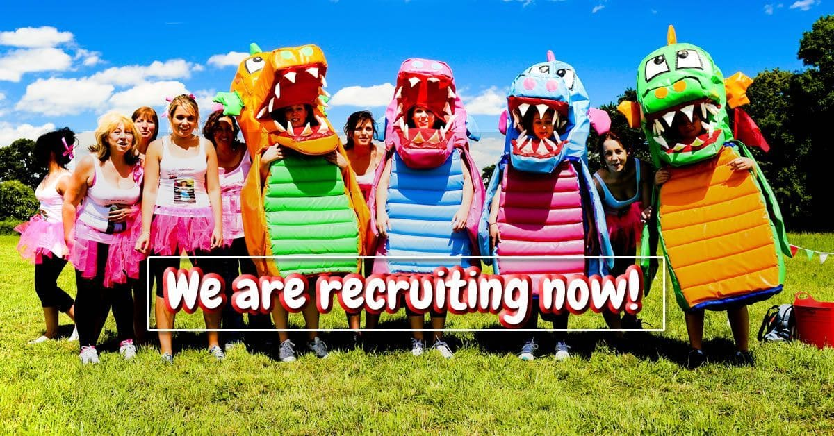 we are recruiting now